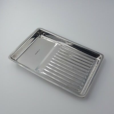 Plateaux Inox Rectangulaire Large - Rockwell - CE / ISO certifié