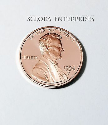 1998 S Lincoln Memorial *proof* Cent / Penny  **free Shipping**