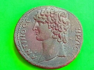 14. Antinous,  Extremely Rare Provincial Coin - 34,43g; 36mm