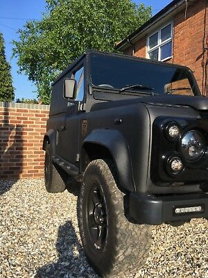 Land Rover 90 blacked out 300tdi