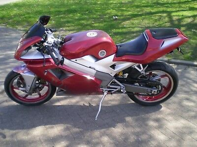 Cagiva Mito evo 2 2001 in special paintwork low mileage very good condition
