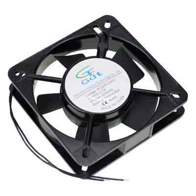 AC 220V 240V 12CM - 120MM Metal Frame Solder Exhaust Cooling Fan