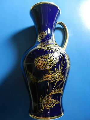 KPM Vase mit Henkel (Handarbeit) / KPM Flower vase with handle (handmade)