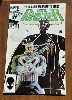 The Punisher #3 Limited Series - 1985 - Very Fine + VF+ - Marvel Comics