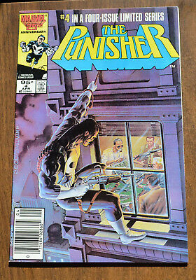 The Punisher #4 Limited Series - 1985 - Very Fine VF - Marvel Comics