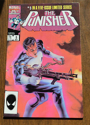 The Punisher #5 Limited Series - 1985 - Near Mint NM - Marvel Comics