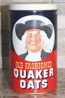 Quaker Oats Tin Cannister 1982 Collectors Limited Edition The Quaker Oats Co