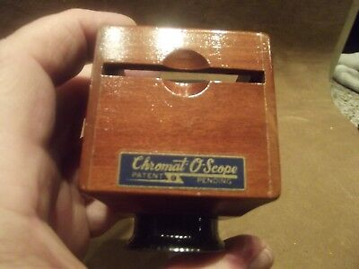 Vintage Chromat-O-Scope Viewer for Slides in Box