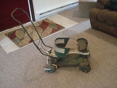 Vintage 1950s TAYLOR TOT Baby stroller with hard to find wheel fenders