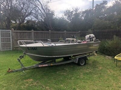 Stacer Fishing Boat