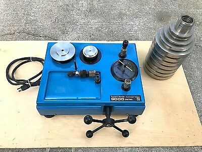 Hydraulic Dead Weight Tester Superb Barnet 9000 Series M9260-4 / 0-16,000 Psi