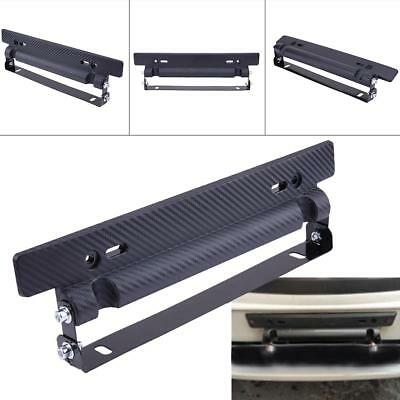 320X60X45mm Universal Adjustable Car License Plate Holder Frame Bracket Mount