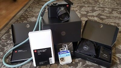 Leica Q Digital Camera with ONA Camera bag!(type 116) Extra battery and many ext
