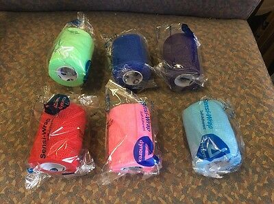 "Sensi Wrap Vet wrap Self Adherent Bandages, Rainbow Colors,3"" x 5 yds, - 6 rolls"