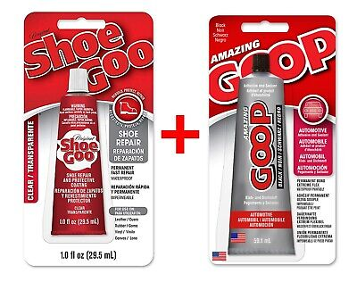 SHOE GOO Clear & SHOE GOO Black SET Zwei Tuben je 59,1ml / Modellbau Automotive