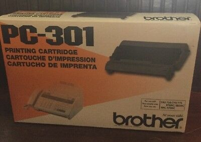 BROTHER PC-301 Printing Cartridge new sealed
