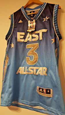 Dwayne Wade NBA All Star Game East Jersey Brand New