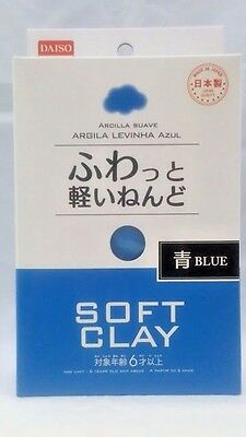 DAISO JAPAN DIY Soft Clay  BLUE Made in   JAPAN  F/Shipping