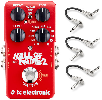New TC Electronic Hall of Fame 2 Reverb Guitar Effects Pedal! HOF