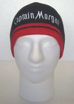 Beanie Skull Cap Hat Knit Limited Edition Captain Morgan One Size New In Package