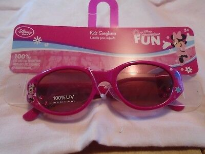 Disney Girls Minnie Mouse Pink Sunglasses