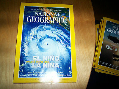 national geographic magazine march 1999
