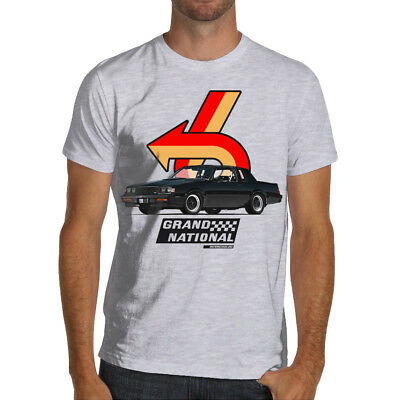 REGAL GRAND NATIONAL Buick Turbo Six GN Soft Cotton White or Gray T-Shirt GNX