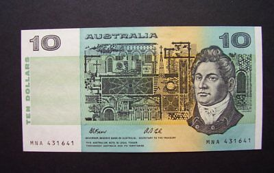 Australia $10.00 Fraser - Cole single note UNC