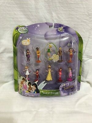 Tinkerbell and the Great Fairy Rescue 19 piece figurine set, brand new