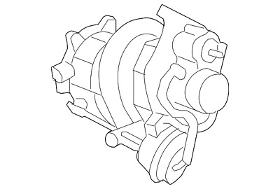 new gm oem twin scroll turbo charger for the 2 0l ecotec engine p n Buick V6 Engine Identification Numbers5h250820 genuine gm turbocharger 12658317