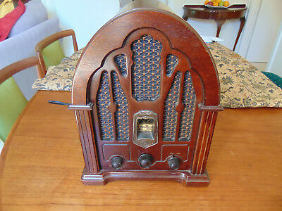Vintage Reproduction GE Cathedral Radio