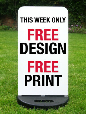 Pavement Sign Shop Sign A Board Sandwich Board *printed Free*