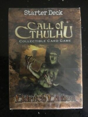 Call of Cthulhu CCG Eldritch Starter Deck (Sealed) (2005)
