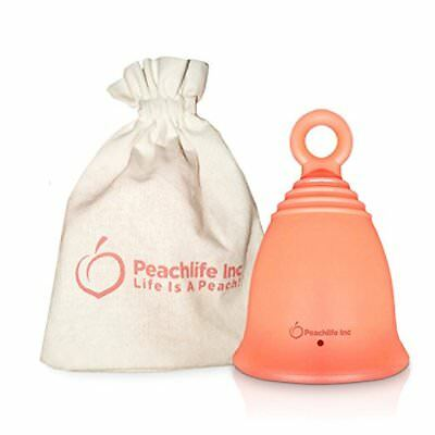 Menstrual Cup w/ Ring For Easy Retrieval, Menstrual Solution, Prechildbirth Cup