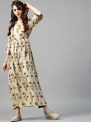 Indian Bollywood Kurta Kurti Designer Women Ethnic Dress Top Tunic Casual Gown