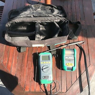 Kane 250 flue gas analyser working order spares or repair need calibration
