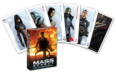 MASS EFFECT - Spielkarten Kartenspiel Playingcards Jeu de Cartes - OVP
