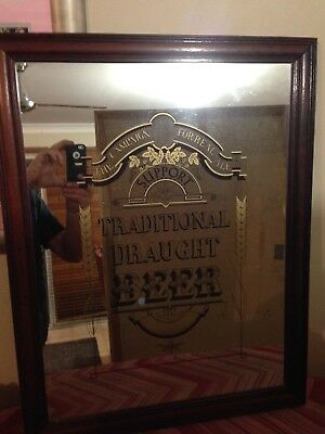 pub mirror,CAMRA,real ale campaign for traditional draught beer mirror man cave