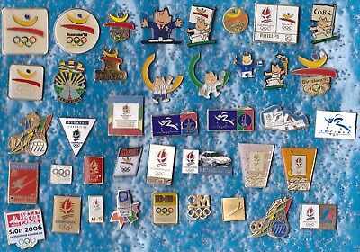 Lot 40 Pin's Jeux Olympique Olympic Games Jo Albertville Barcelona Etc +++++R6++