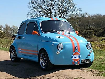 1971 Fiat 500 Abarth recreation, Nut and bolt restored