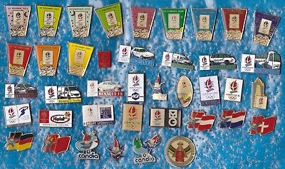Lot 40 Pin's Jeux Olympique Olympic Games Jo Albertville +++++R5++++++++++++
