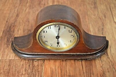 Wurttemberg Wurtenberg 8 Day Time Only Shelf Clock Vintage Clocks Antique
