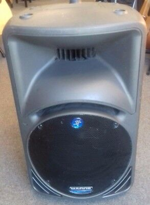 Mackie SRM 450 active PA speaker, well gigged with cosmetic marks, working 100%