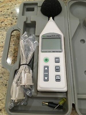 sound level meter iso-tec slm 1352a (Rally Car noise test)