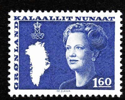 Greenland 1980 160 Ore Queen Margrethe II Mint Unhinged