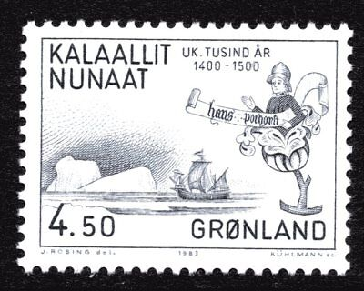 Greenland 1983 4.50 Krone Hans Pothorst Mint Unhinged