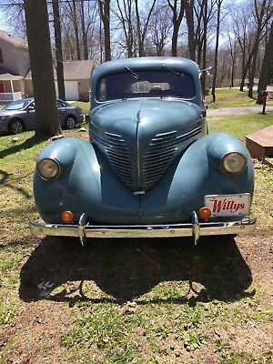 1937 Willys Model 37  1937 Willys 4 Door Sedan