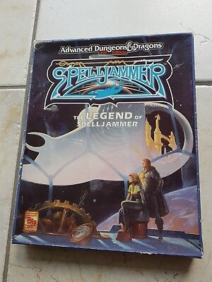 Advanced dungeons and dragons spelljammer box komplett
