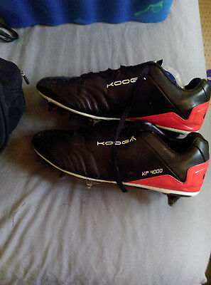 Kooga KP 4000 Size 11 Rugby Boots New