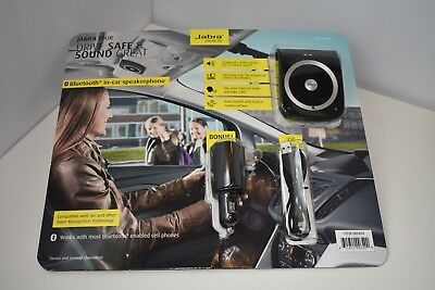 Jabra Tour Bluetooth in-car Speakerphone Bonus All-in-one Travel Charger